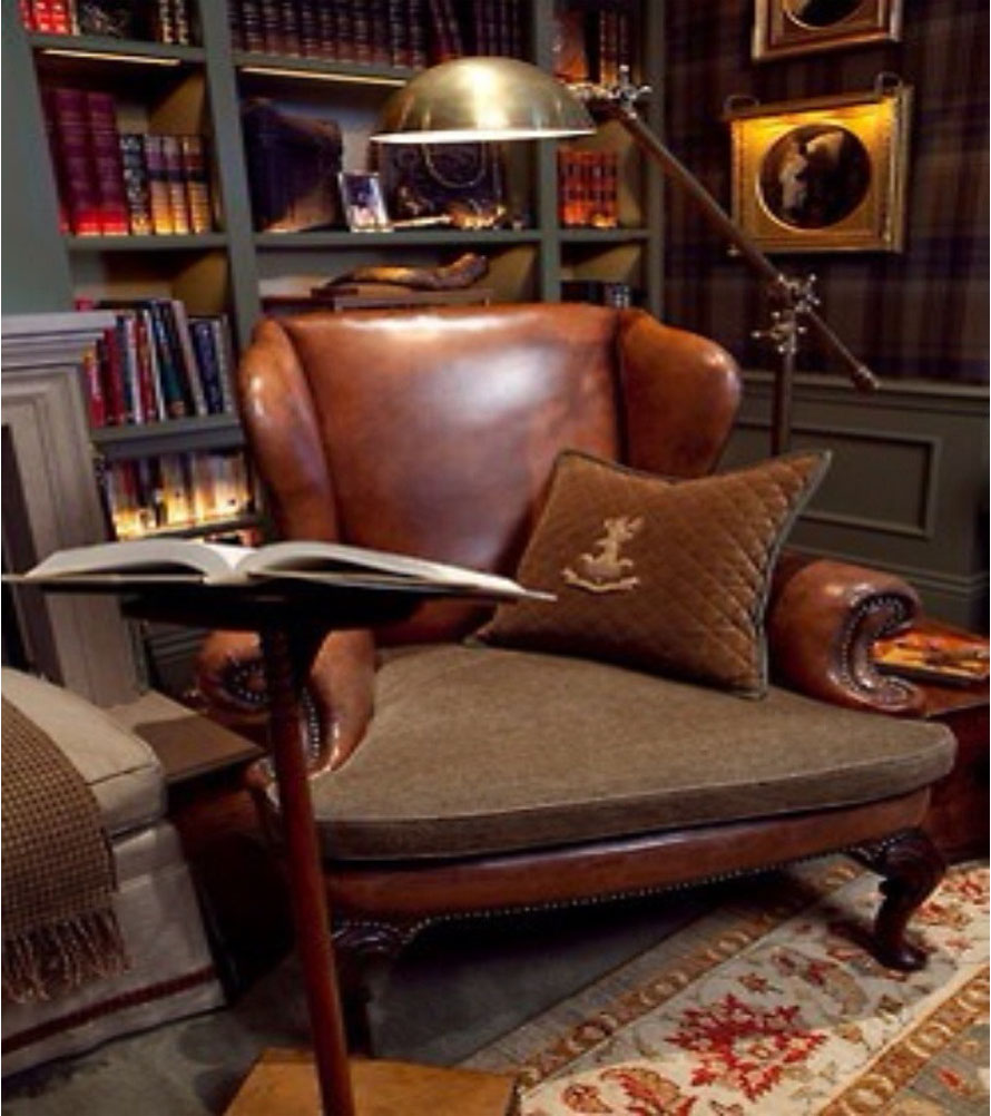 Small Home Office Ideas For Men And Women: A Touch Of Southern Grace : The Man's Study