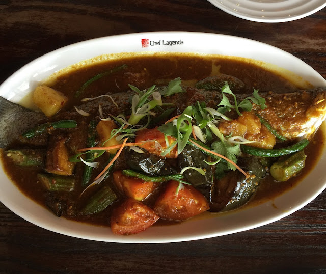 Chef Lagenda, Deer Park, steamed fish