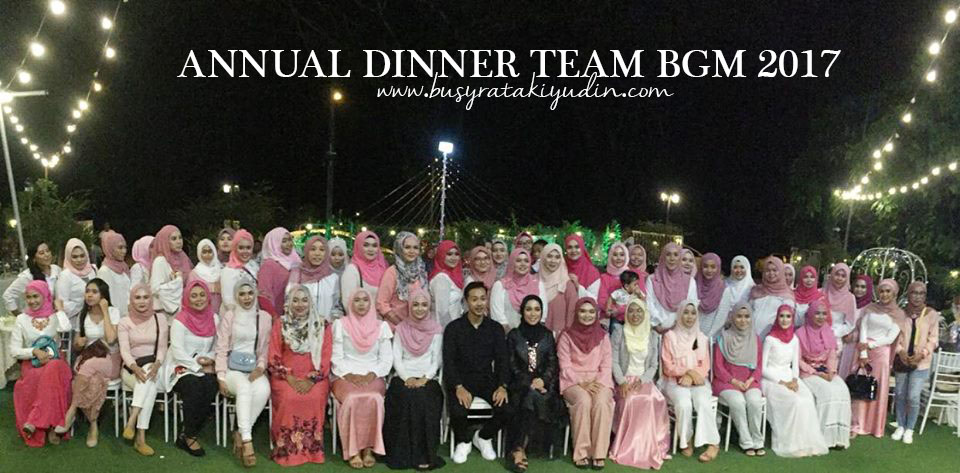 ANNUAL DINNER TEAM BGM 2017