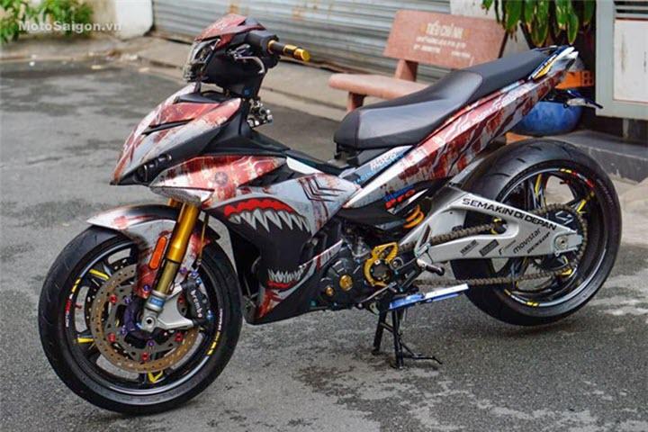 Những tay chơi Việt vung tiền tỷ độ xe máy 'cùi bắp'