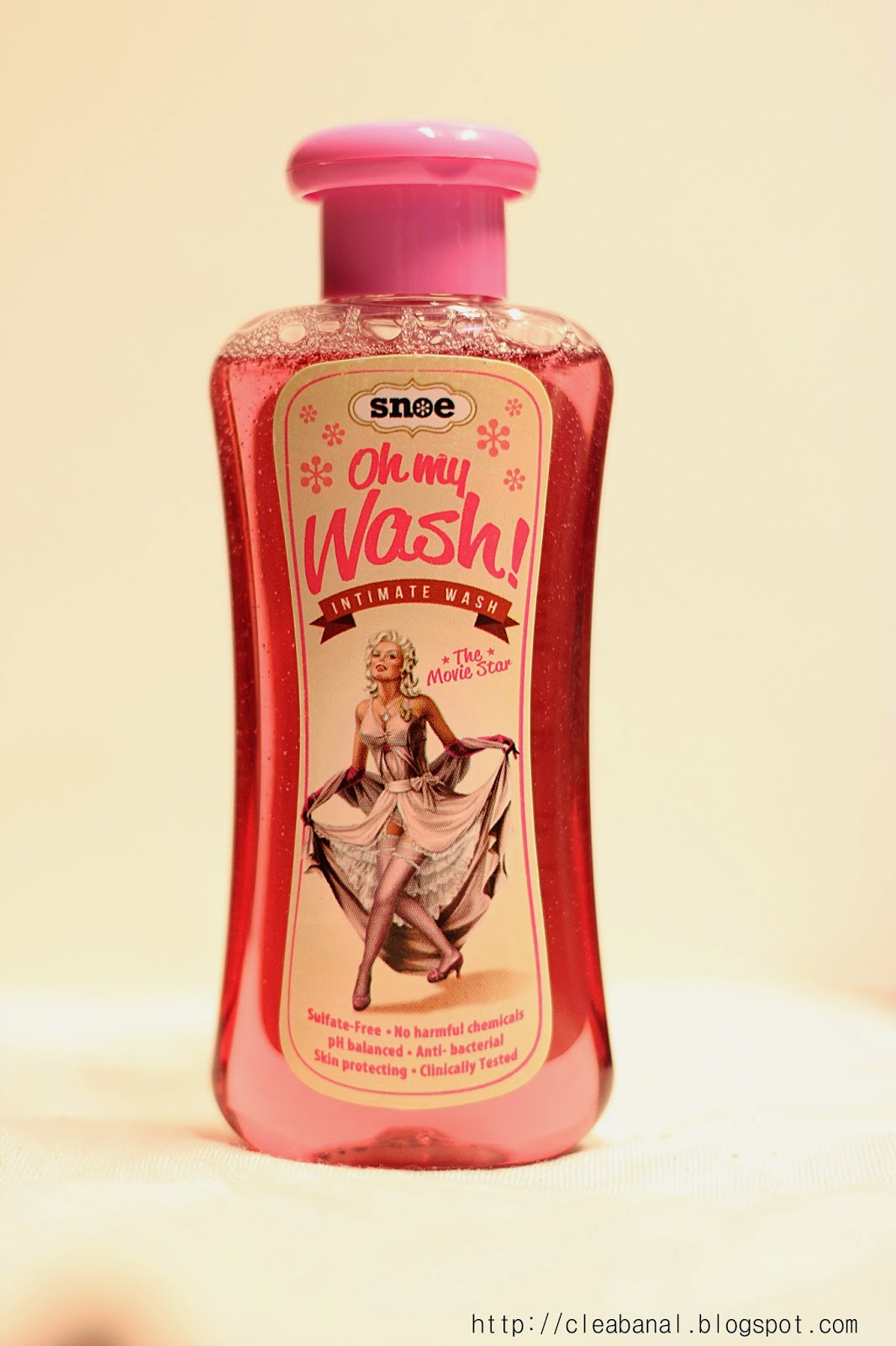 Snoe : Oh My Wash! The Movie Star Intimate Wash Review