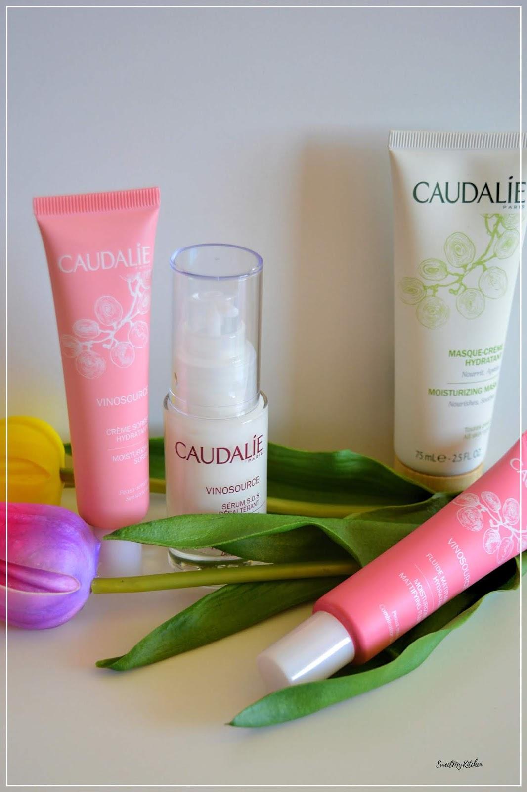 Caudalie rosacea moisture skincare