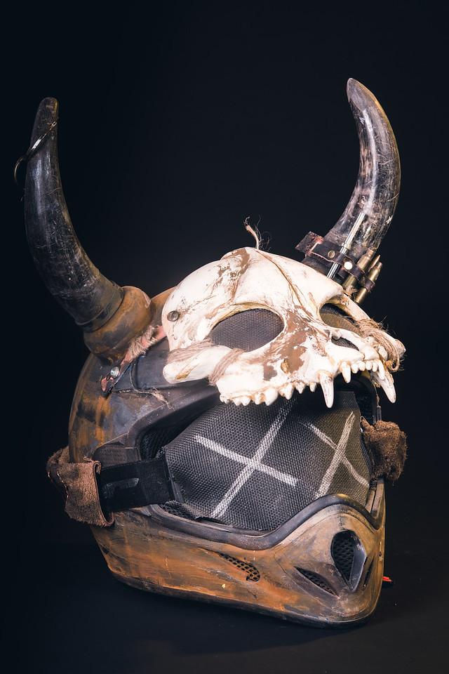 Post Apocalypse Wasteland Helmet by Allen Amis