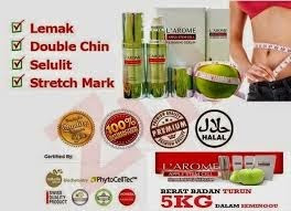 beli larome slimming serum di padang
