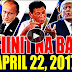 MUST WATCH! BREAKING NEWS PHILIPPINE - APRIL 22, 2017 TRUMP PH VISIT | DE LIMA TIMES | RUSSIAN SHIP