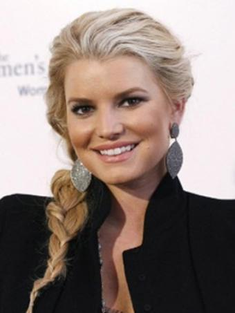 jessica simpson updo hairstyles. 2011 Jessica Simpson Updo