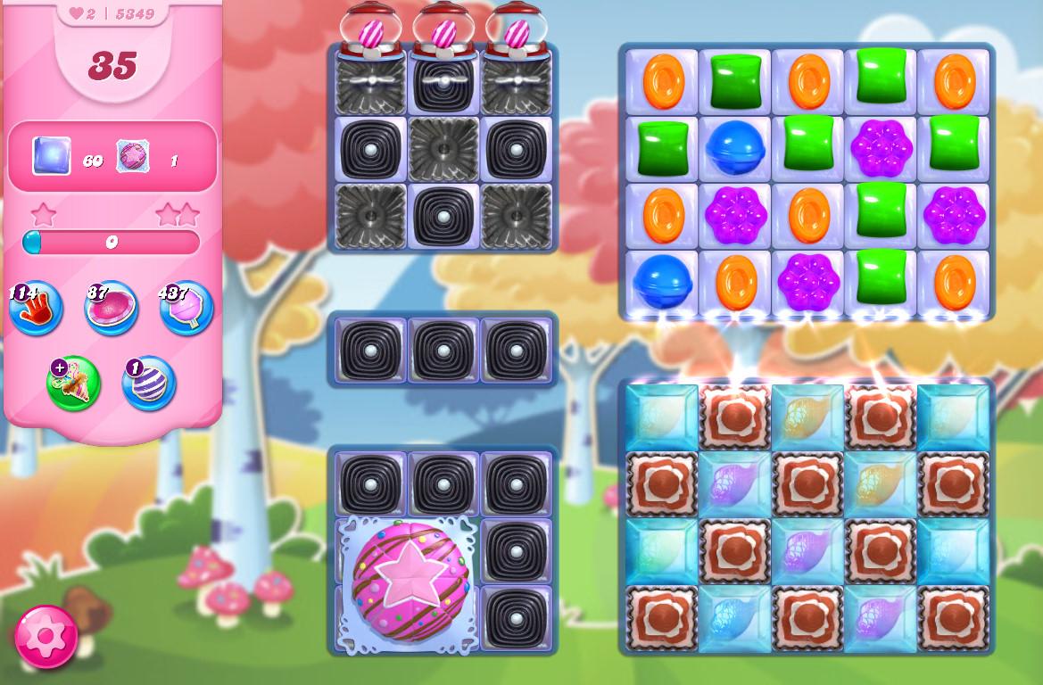 Candy Crush Saga level 5349