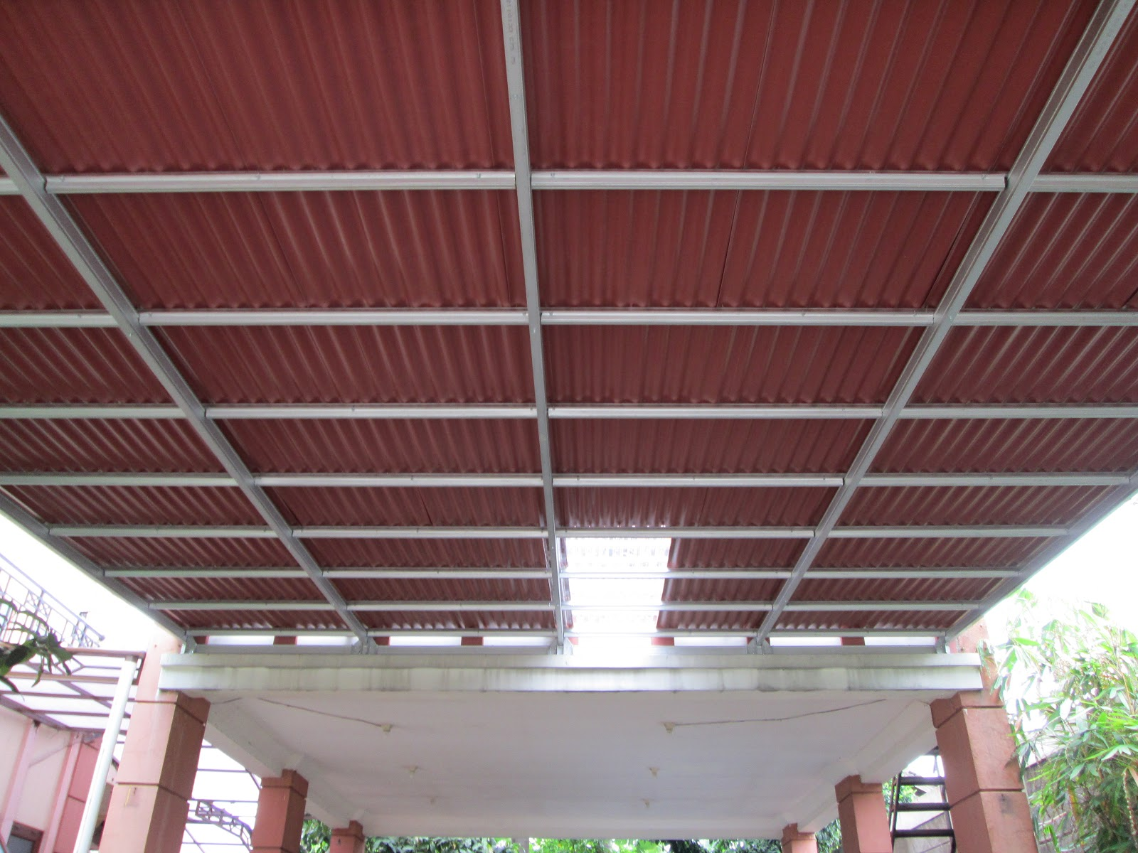 Pasang Baja Ringan Bintaro Canopy Go Green | Spandek Pasir: ...