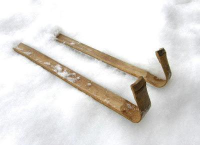 Bamboo skis