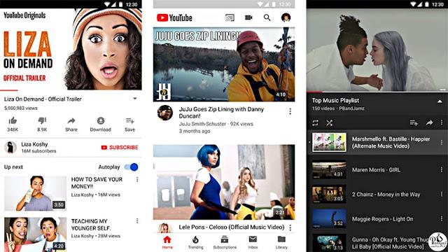 تطبيق youtube - يوتيوب لربح المال