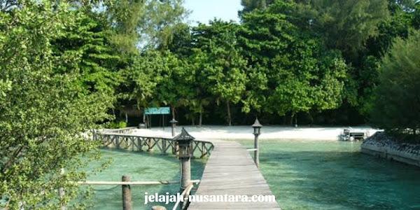 taman nasional kepulauan seribu pulau pramuka