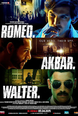Romeo Akbar Walter 2019 Hindi 480p WEB HDRip 400Mb x264