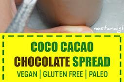 Coco Cacao Chocolate Spread (Vegan | Gluten Free | Paleo)