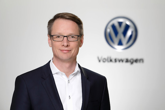 Image Attribute: Christoph Hartung, Head of Digital & New Business / Mobility Services a at Volkswagen / Source: Volkswagen AG (DB2018PA00024)