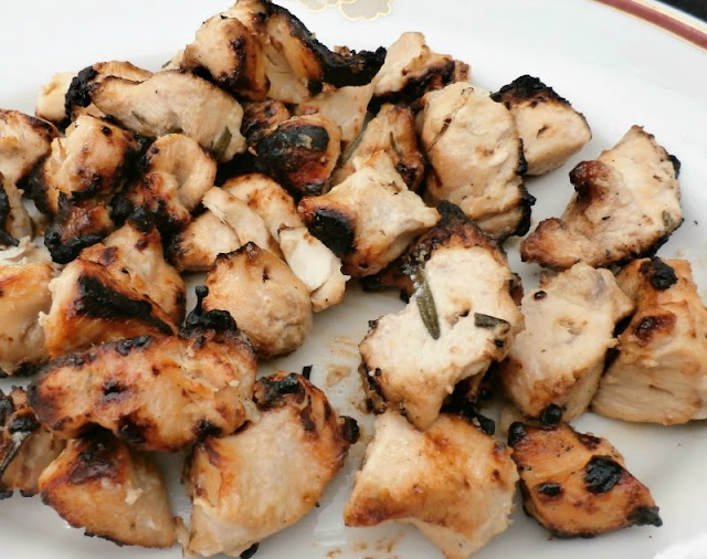 Grilled Rosemary Ranch Chicken