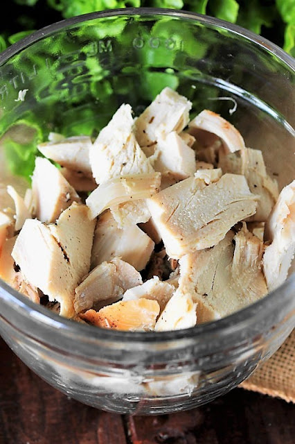 Coarsely Chopped Turkey to Make Southern Turkey Salad Image