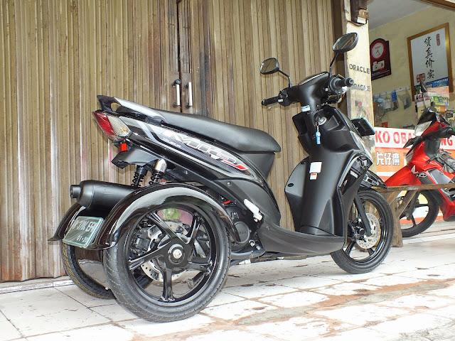 Kumpulan Modifikasi Motor Matic Di Jakarta Terbaru Dunia Motor