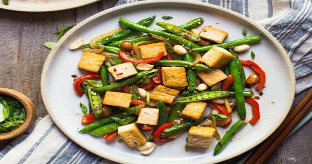 Kung Pao Tofu Stir Fry Recipe