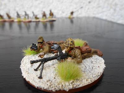 bolt action equipo de ametralladora japonés