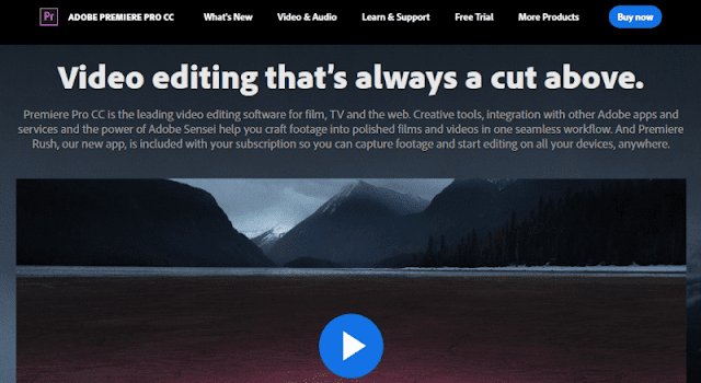 Adobe Premiere Pro - 15+ Best Video Editing Software For YouTube