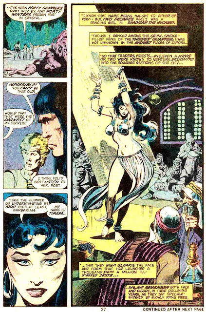 Conan the Barbarian v1 #45 marvel comic book page art by Neal Adams