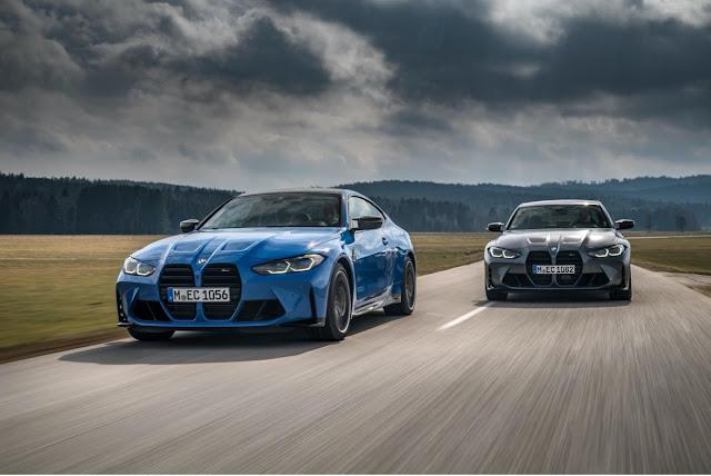 أداء عالٍ ضمن الخيارات الجديدة: تقديم تقنية الدفع M xDrive لأول مرة في طرازات BMW M3 وBMW M4.