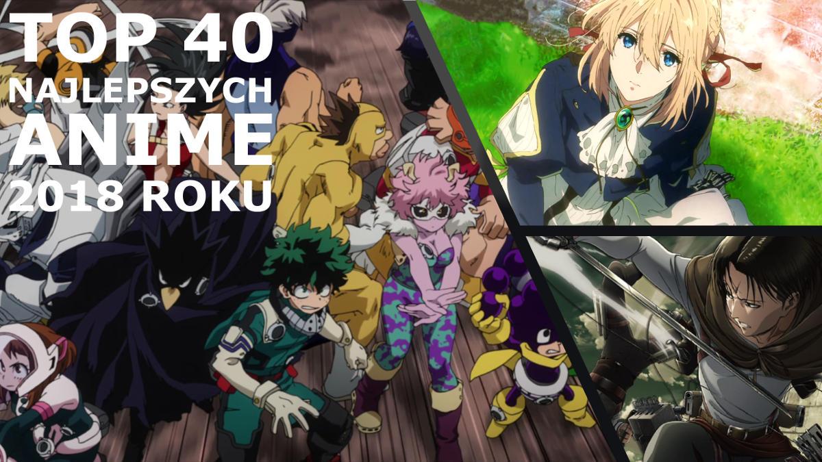 Najlepsze anime 2018 roku według serwisu Animeholik.pl