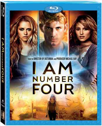 I Am Number Four 2011 480p 350MB BRRip Dual Audio