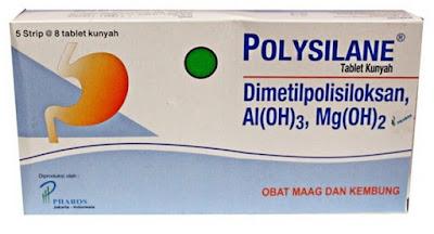 Harga Polysilane Tablet dan Sirup Obat Maag dan Perut Kembung Terbaru 2017