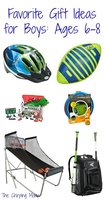 50 Favorite Gift Ideas for Boys: Ages 6-8 || The Chirping Moms