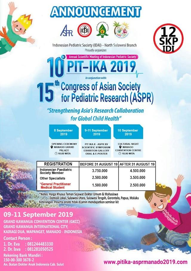 PIT IDAI Manado 2019,
