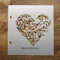 http://www.papelia.pl/maska-szablon-wzor-serce-flora-p-788.html