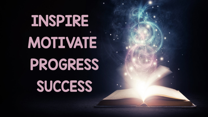 Did you know there are four steps to reading success? Inspiration-Motivation-Progress-Success!  Check out this post to see how to get the job done.