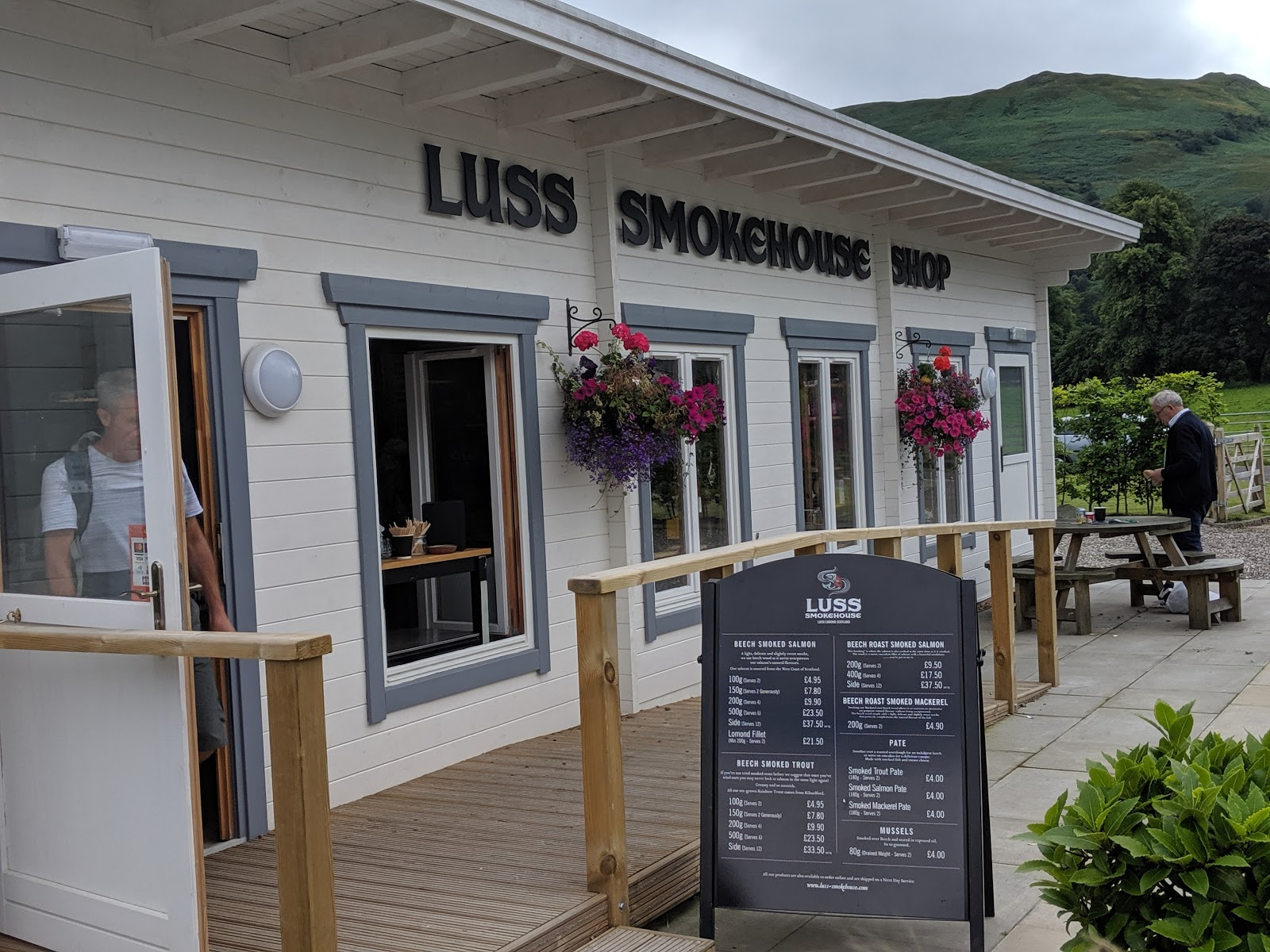 A Short Break at Cameron Lodges, Loch Lomond - Luss - smokehouse