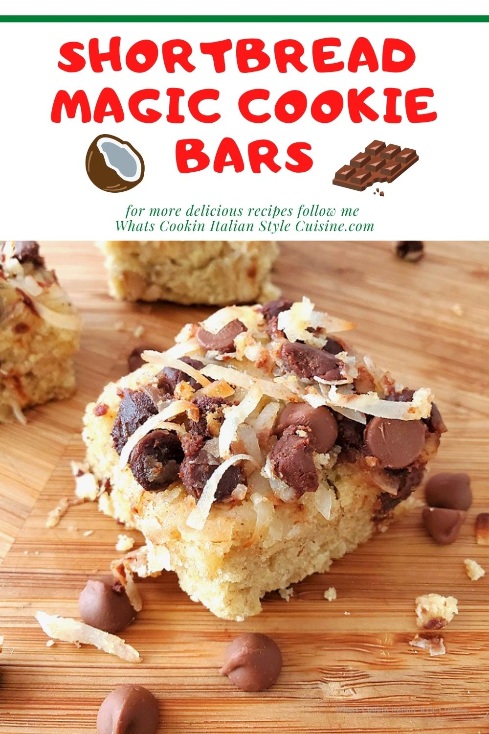 this is a pin for later for making magic cookie bars