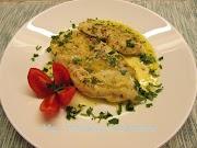 Пилешки пържоли с пикантен лимонов сос *  Scaloppine di pollo al limone e capperi