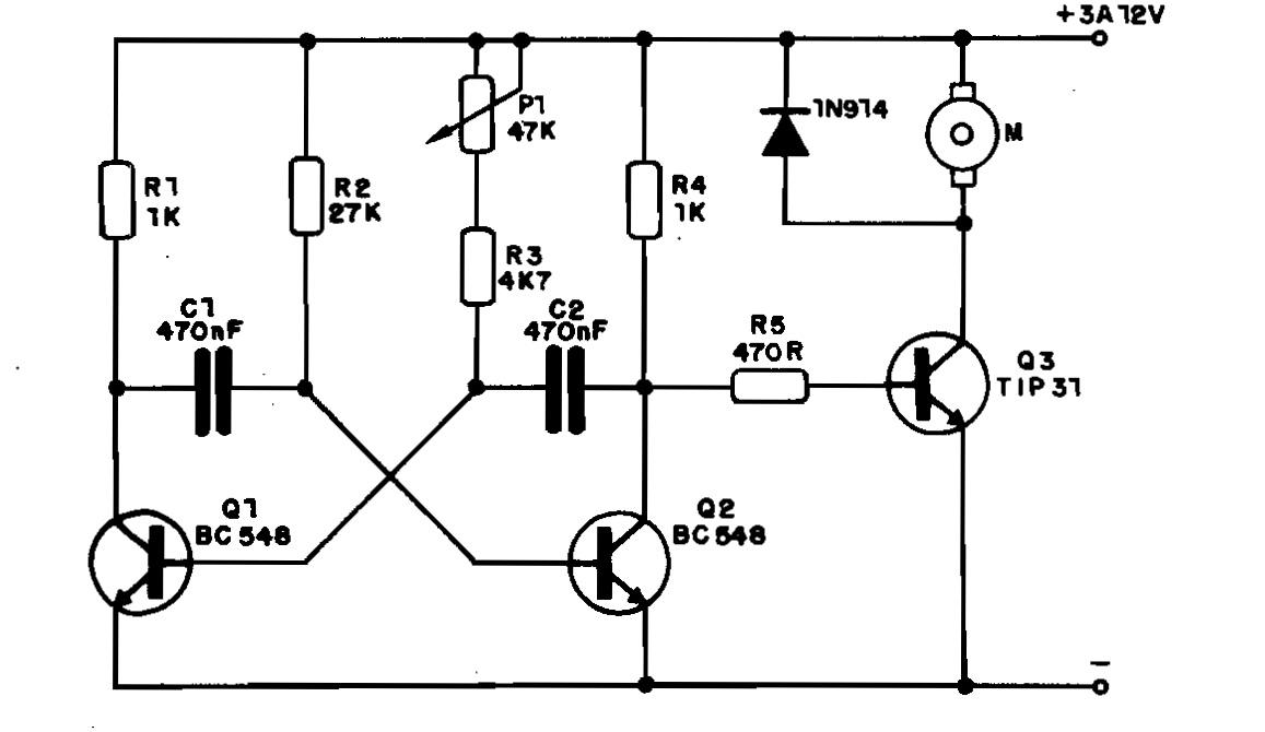 df98534aef5 Adnan Eletrônica  Controle de velocidade motor CC