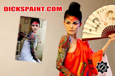 Body Painting Dragon Fullslave Jakarta