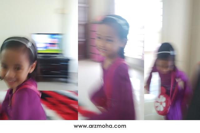 sukar untuk merakam gambar anak bila semakin membesar, karenah anak-anak ketika merakam gambar, cik puteri, malaysia parenting blogger,
