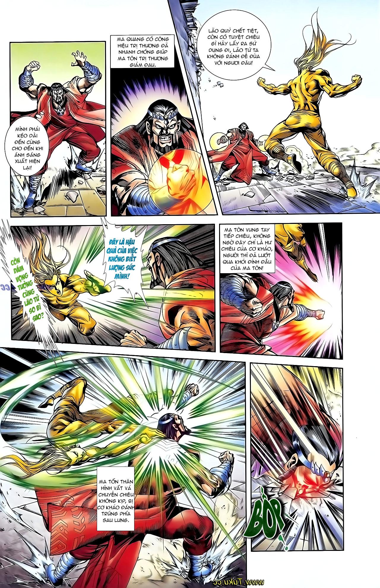 Cơ Phát Khai Chu Bản chapter 125 trang 25