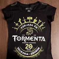 Camiseta comemorativa da campanha.