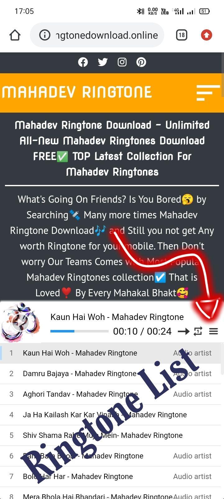 Mahadev download mp3