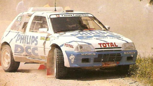 dariors decals citroen ax proto 4x4 g barreras rally race 1992. Black Bedroom Furniture Sets. Home Design Ideas