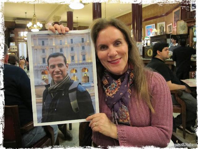 Homenagem ao meu amor Marcio Muniz Nascimento em Buenos Aires
