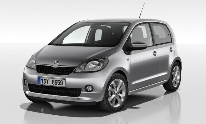 Skoda Citigo front view