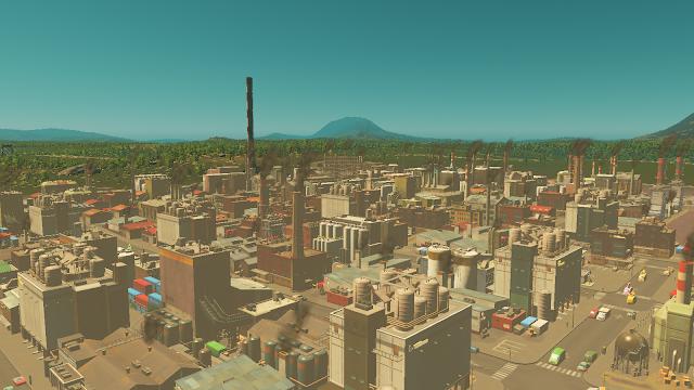 Cities Skylines Industri