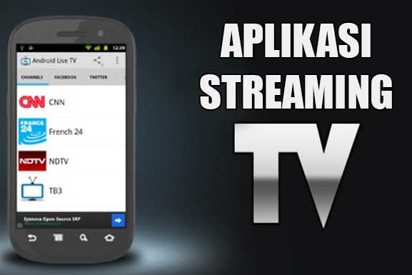 fAplikasi Streaming TV Terbaik di Android - GRATIS!
