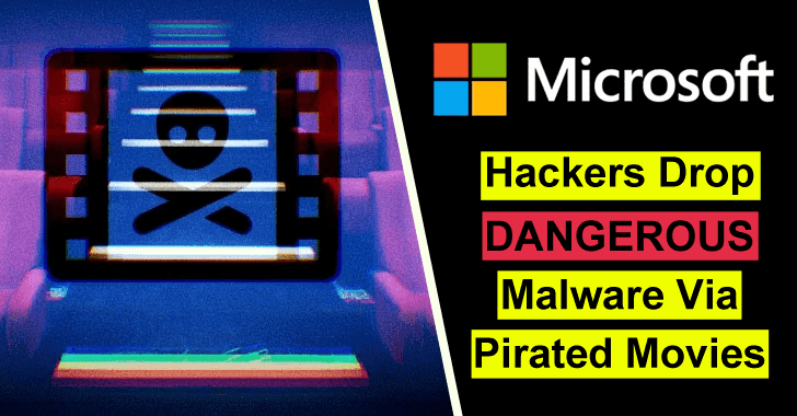 Malware Via Pirated Movies