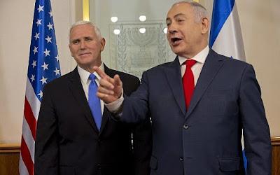 É uma honra estar na capital de Israel, diz Pence em reunião com Netanyahu