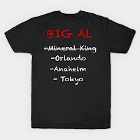 Big Al Inspired Country Bear Jamboree T Shirt